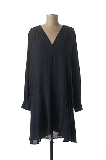Robe mi-longue bleu SAMSOE & SAMSOE pour femme