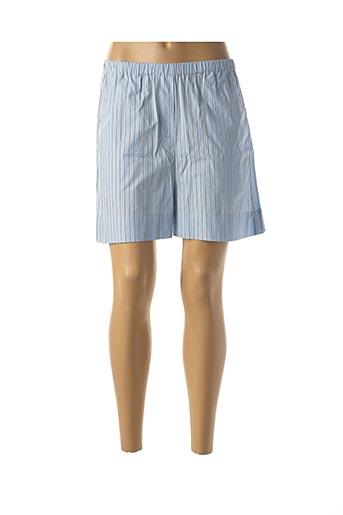 Short bleu SAMSOE & SAMSOE pour femme