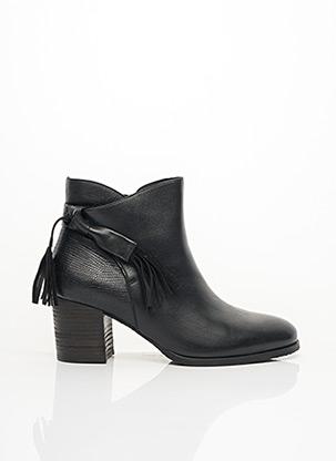 Bottines/Boots noir ELYSÉE pour femme