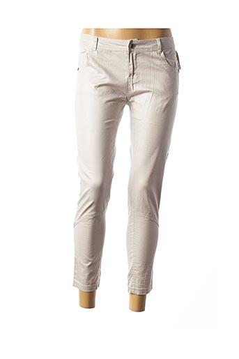 Pantalon 7/8 gris SO SOON pour femme