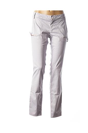 Pantalon casual gris DEHA pour femme