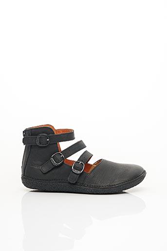 Sandales/Nu pieds noir KICKERS pour femme