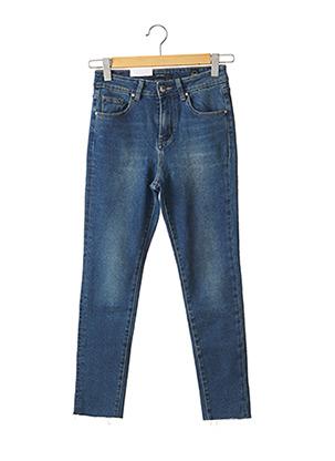 Jeans skinny bleu F.A.M. pour femme