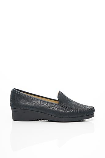 Chaussures de confort bleu HIRICA pour femme