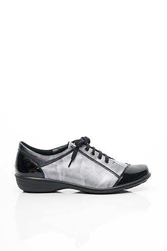 Chaussures de confort gris GEO-REINO pour femme