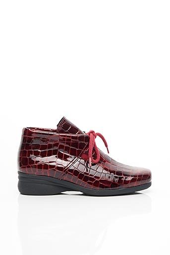 Chaussures de confort rouge HIRICA pour femme