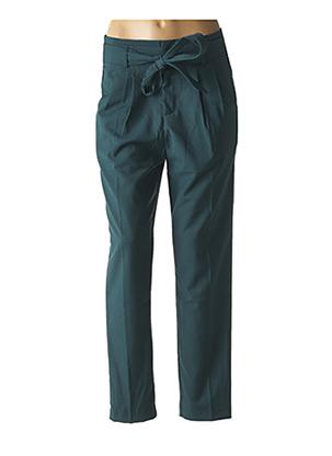 Pantalon chic vert GRACE & MILA pour femme