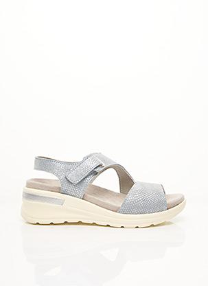 Sandales/Nu pieds bleu ACO pour femme