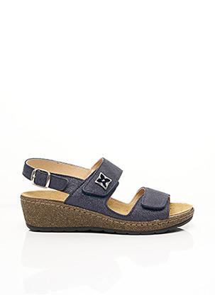 Sandales/Nu pieds bleu FLORETT pour femme
