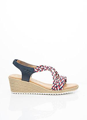 Sandales/Nu pieds bleu COTEMER pour femme