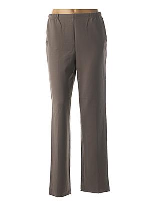 Pantalon chic gris QUATTRO pour femme