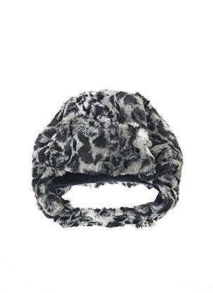 Bonnet gris MILK ON THE ROCKS pour fille