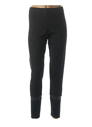 Legging noir GUY DUBOUIS pour femme