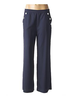 Pantalon casual bleu MOLLY BRACKEN pour femme