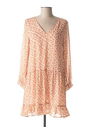 Robe courte rose CERISE BLUE pour femme