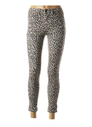 Pantalon 7/8 gris VILA pour femme