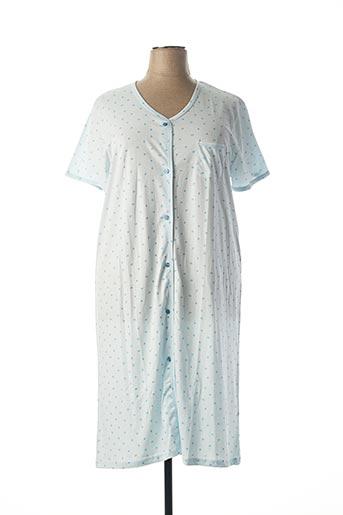 Chemise de nuit bleu ARY & BELLE pour femme
