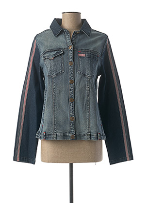 Veste en jean bleu AGATHE & LOUISE pour femme