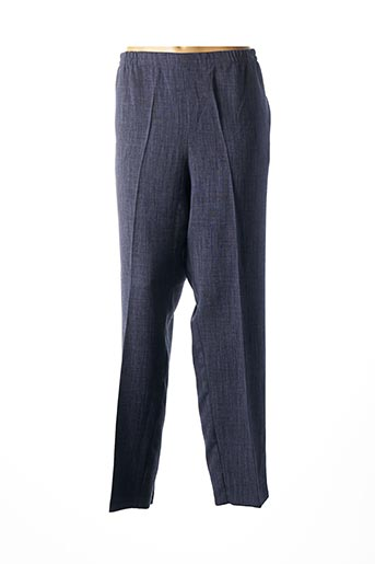 Pantalon chic bleu FRANCOISE SAGET pour femme