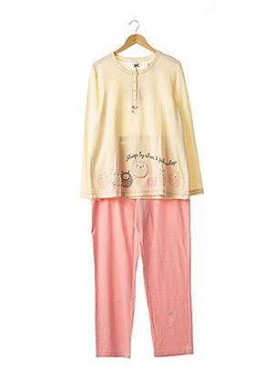 Pyjama rose SENORETTA pour femme