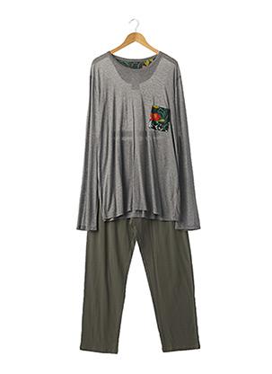 Pyjama gris HOM pour homme