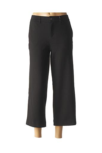 Pantalon 7/8 noir STREET ONE pour femme
