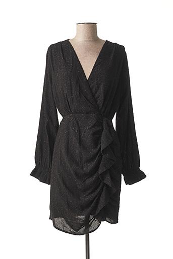 Robe mi-longue noir EMMA & ELLA pour femme
