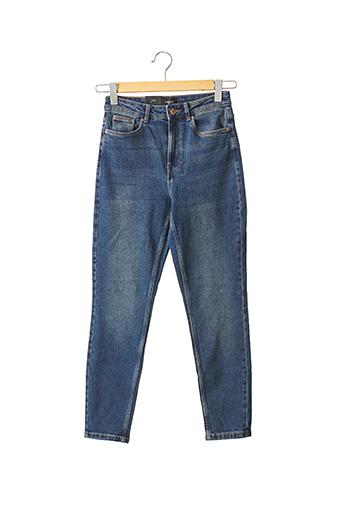 Jeans coupe slim bleu VERO MODA pour femme