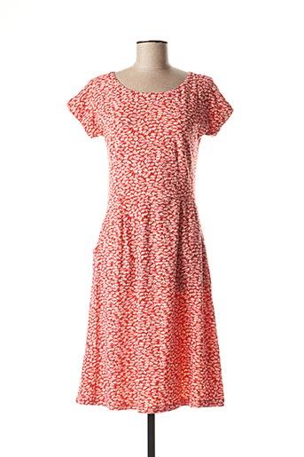 Robe mi-longue rose KALI YOG pour femme
