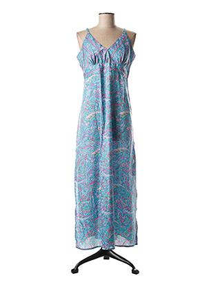 Robe longue bleu ALLER SIMPLEMENT pour femme