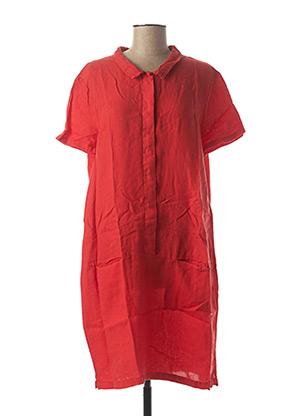 Robe mi-longue rouge HARRIS WILSON pour femme