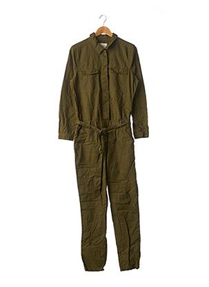 Combi-pantalon vert YAYA pour femme