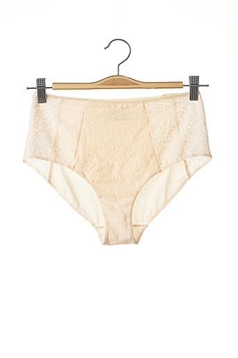 Shorty/Boxer beige FEMILET pour femme