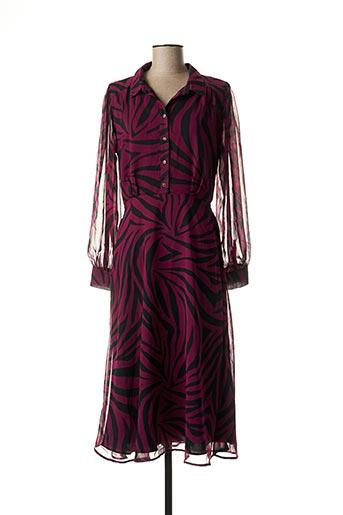 Robe longue rose MORGAN pour femme