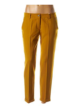 Pantalon chic marron PAKO LITTO pour femme