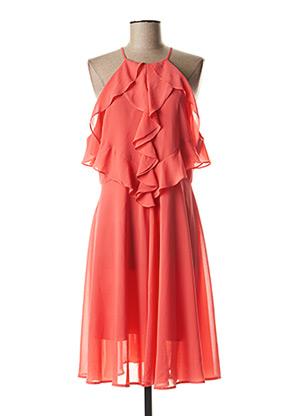 Robe mi-longue rose FRACOMINA pour femme