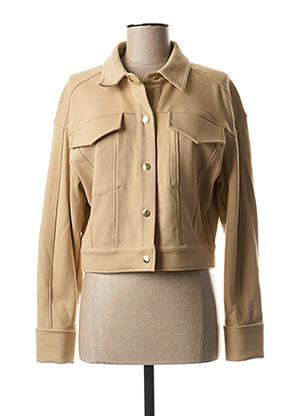 Veste casual beige SCOTCH & SODA pour femme