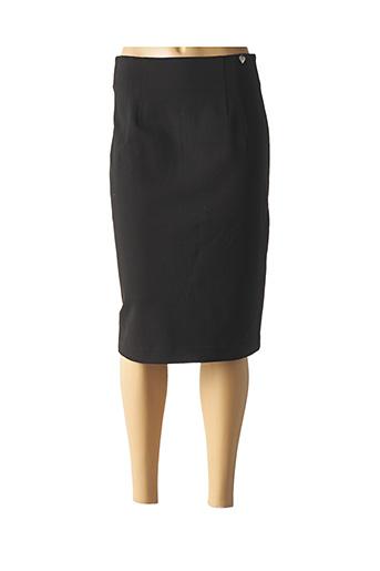 Jupe mi-longue noir TWINSET pour femme