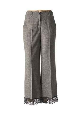 Pantalon casual gris TWINSET pour femme