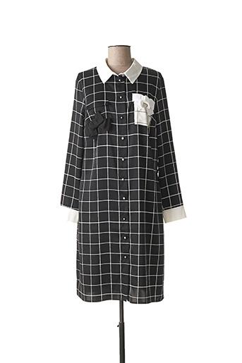 Robe mi-longue noir WEILL pour femme