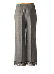 Pantalon casual gris TWINSET pour femme seconde vue