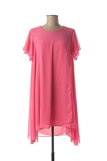 Robe courte rose B.YU pour femme