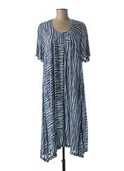 Robe longue bleu FRANCK ANNA pour femme seconde vue