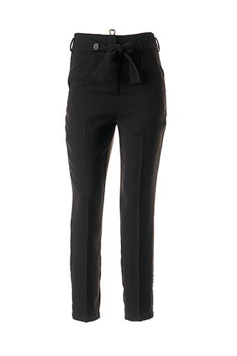 Pantalon chic noir SCHOOL RAG pour femme