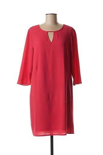 Robe mi-longue rouge STREET ONE pour femme