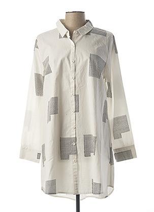 Robe courte blanc KOKOMARINA pour femme