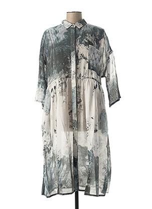Robe mi-longue bleu KOKOMARINA pour femme