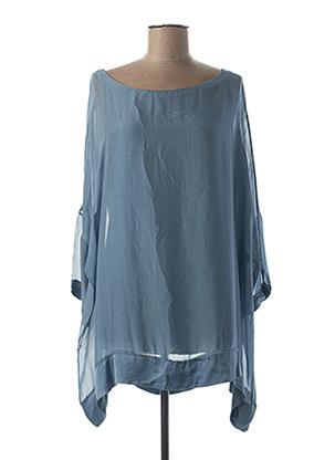 Tunique manches longues bleu B.YU pour femme