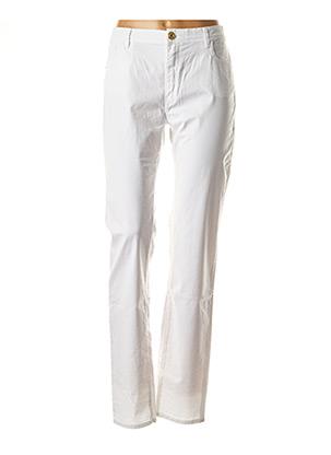 Jeans skinny blanc TRUSSARDI JEANS pour femme