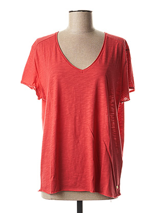 T-shirt manches courtes rouge HARRIS WILSON pour femme